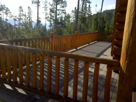 Custom Deck Construction In Big Sky Mt Jarvis Custom